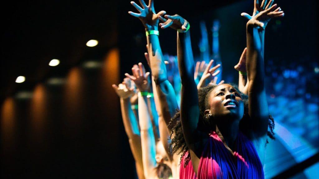 """Break Every Chain"" Praise Dance   RHETORIC 2014"