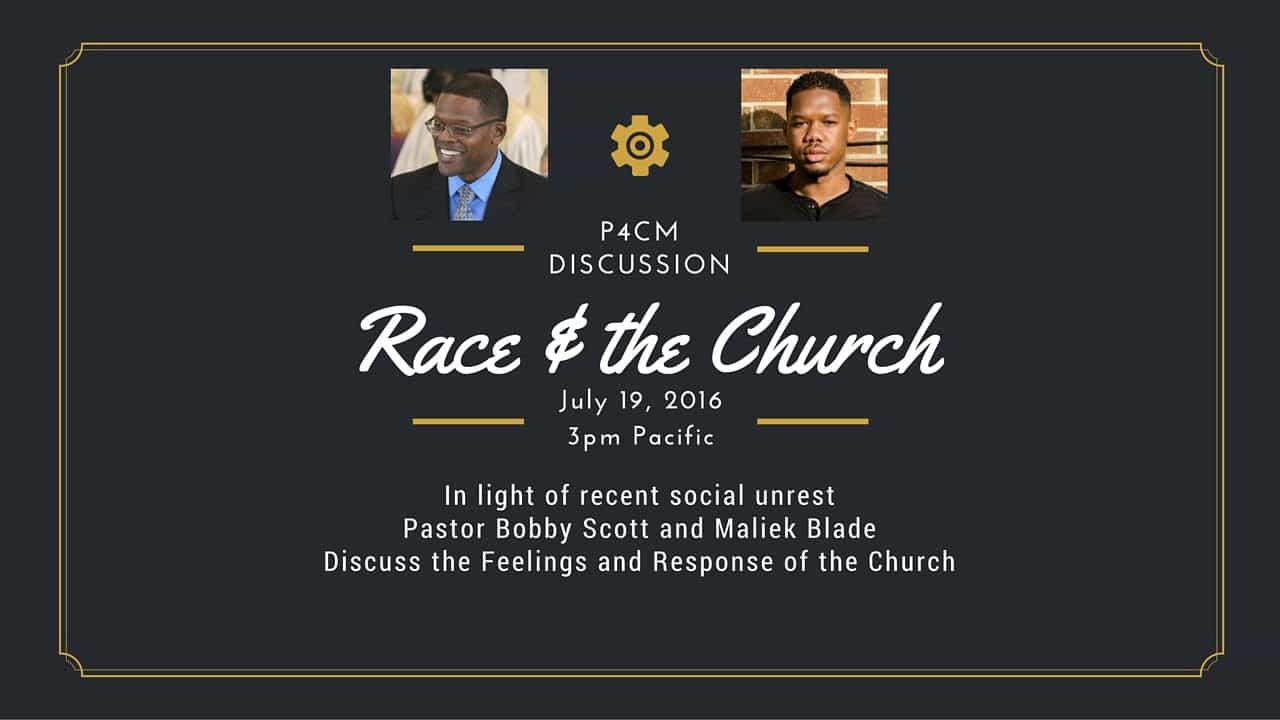 P4CM Discussion on Race and the Church